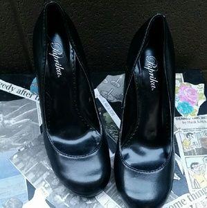 Paprika Shoes - Paprika Black Pumps