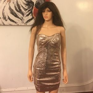 Sequin Nicole Miller dress size 8