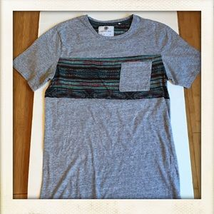 on the byas Other - MENS PACSUN GREY POCKET T SHIRT