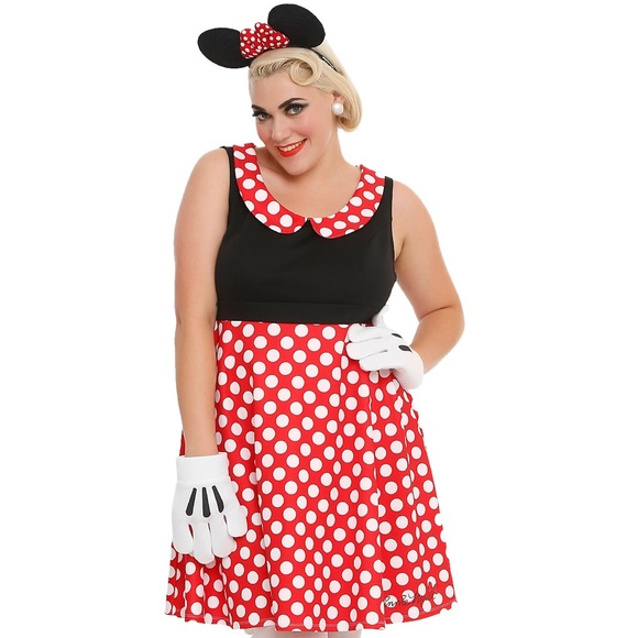 27% off hot topic dresses & skirts - plus size costume--minnie