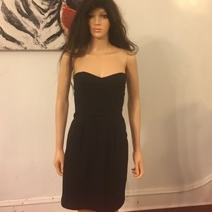 black diane von furstenberg strapless dress on Poshmark