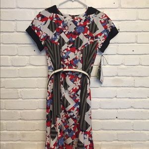 Peter Pilotto for Target Red Floral print Dress.