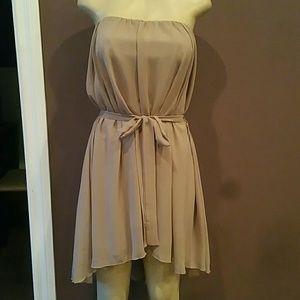 Dresses & Skirts - Strapless High-low Dress