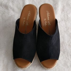 Callisto Shoes - Athena Alexander Wedges - used only once