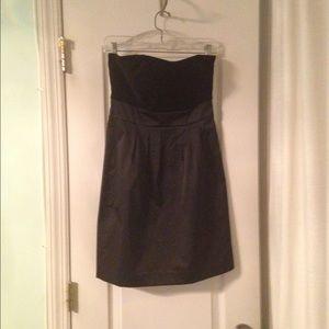 BNWT Banana Republic strapless velvet/satin dress