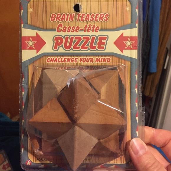 Wood Puzzles plus bonus puzzles 4for$25
