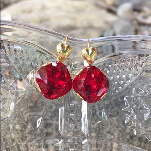Jewelry - Earrings made with Swarovski crystal #53