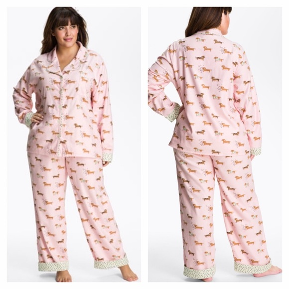 3fa2c34c94 🎉SALE🎉Munki Munki Weiner Dog Flannel Pajamas