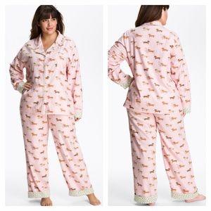 Munki Munki Other - Munki Munki Weiner Dog Flannel Pajamas