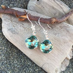 Jewelry - Handcrafted earrings with Swarovski crystal #62