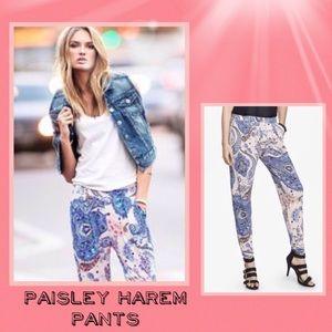 🆕Express Harem Paisley Print Pants