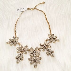 NWT J. Crew Crystal Statement Necklace!