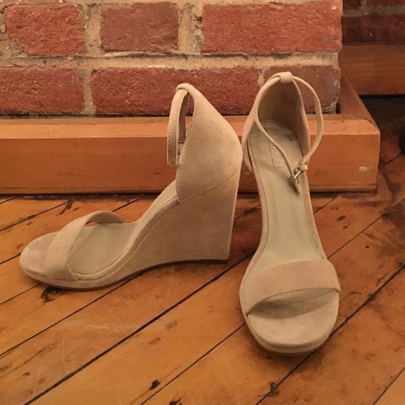 78ac0bee19b Aldo Shoes - ALDO Elley Nude Wedge Sandals