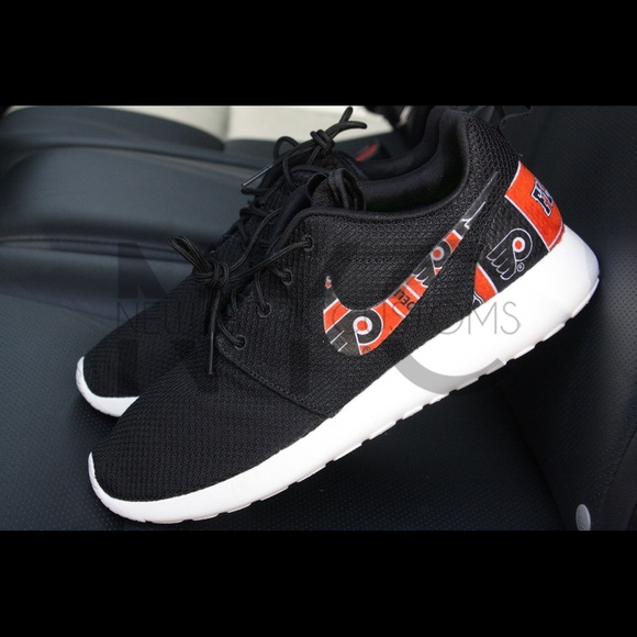 Philadelphia Flyers Nike Roshe One Custom Men