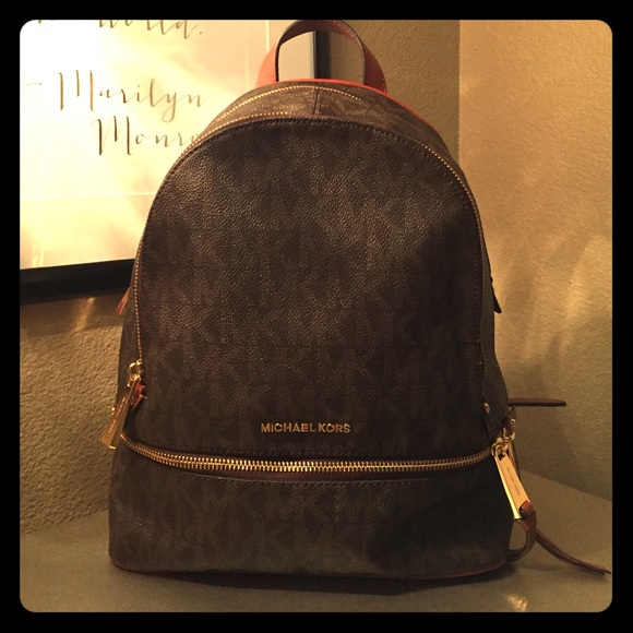 64dfd199d7b90a Michael Kors Bags | Rhea Md Backpacknew With Tags | Poshmark