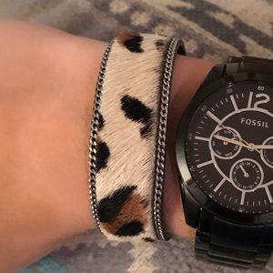 LF Stores Jewelry - Cheetah print bracelet