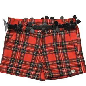 Byblos Other - Byblos Toddler Girls Tartan Plaid Shorts Size 2.