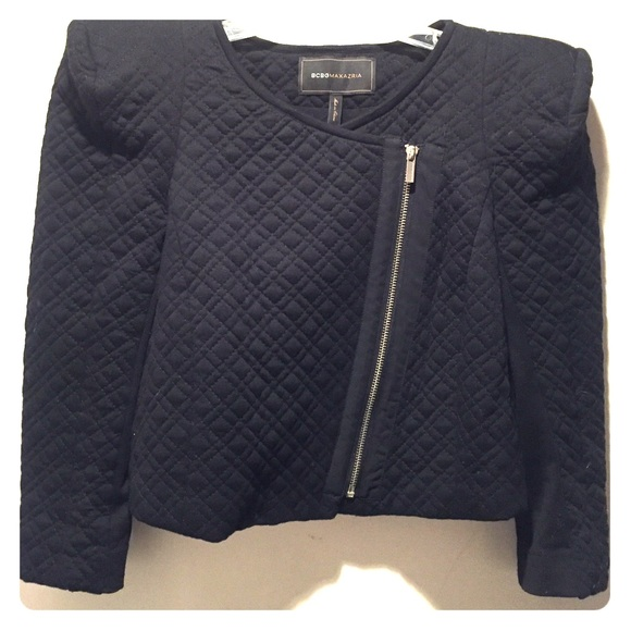 75% off BCBG Jackets & Blazers - BCBG quilted cropped jacket from ... : quilted cropped jacket - Adamdwight.com