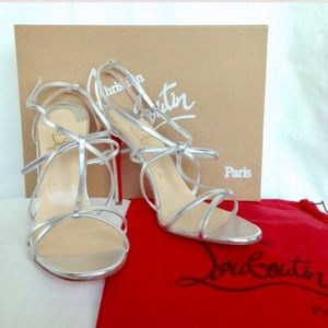 ceebc7545fe Christian Louboutin Shoes - NEW Christian Louboutin  Youpiyou  Leather  Sandals