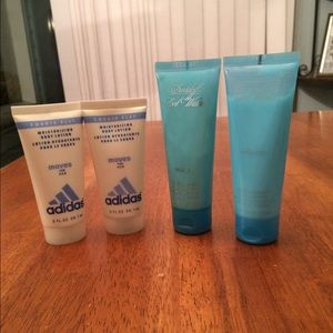 Other - Cool Water and Adidas body lotion bundle