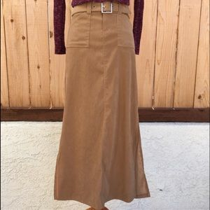 73% off Tracy Evans Limited Dresses & Skirts - Long Tan Skirt from ...
