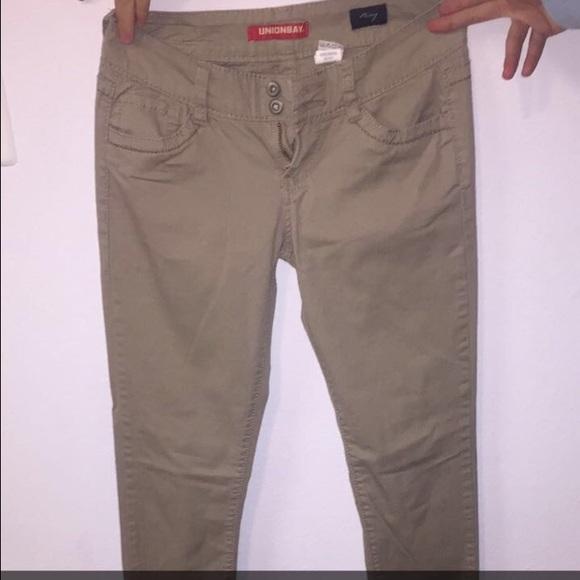 UnionBay skinny khaki long pants jeans