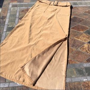 Tracy Evans Limited Dresses & Skirts - Long Tan Skirt