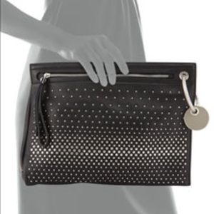 Marc by Marc Jacobs degradee studded clutch