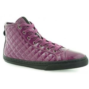Geox Shoes - 💋 NEW GEOX HI TOP SNEAKERS PATENT LEATHER NEW
