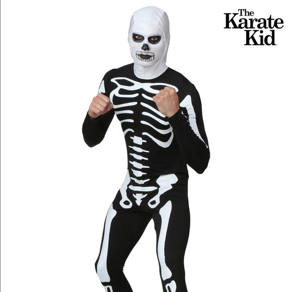 Karate Kid Halloween Costume.Karate Kid Skeleton Costume