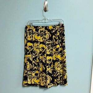 Who What Wear Dresses & Skirts - Who What Wear Floral Pencil Skirt w/ Panel Strips