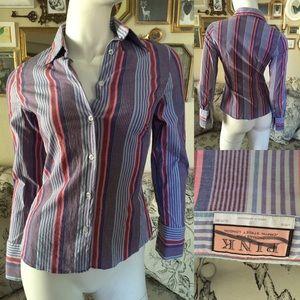 Thomas Pink Tops - THOMAS PINK Striped Top
