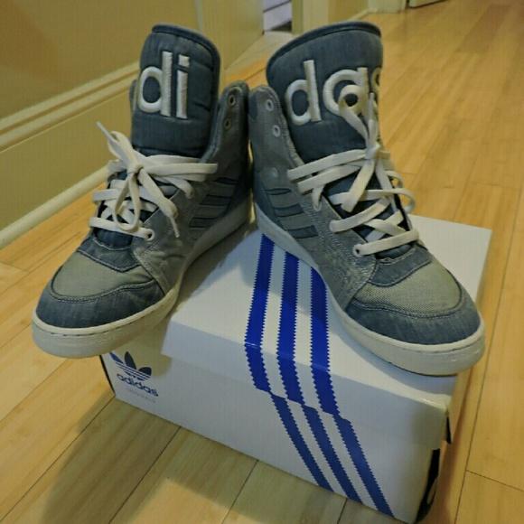 wholesale 100% top quality store Jeremy Scott x Adidas Shoes | Originals Instinct Hi Denim | Poshmark