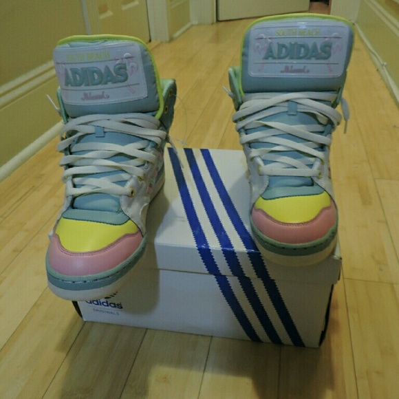 8b6df0aa24d5 Jeremy Scott x Adidas Other - Jeremy Scott x adidas License Plate South  Beach