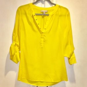 Yellow Blouse Banana Republic 63