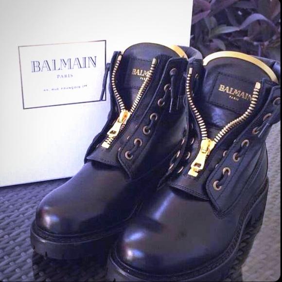 0c4067eec2b Balmain Shoes | Boots | Poshmark