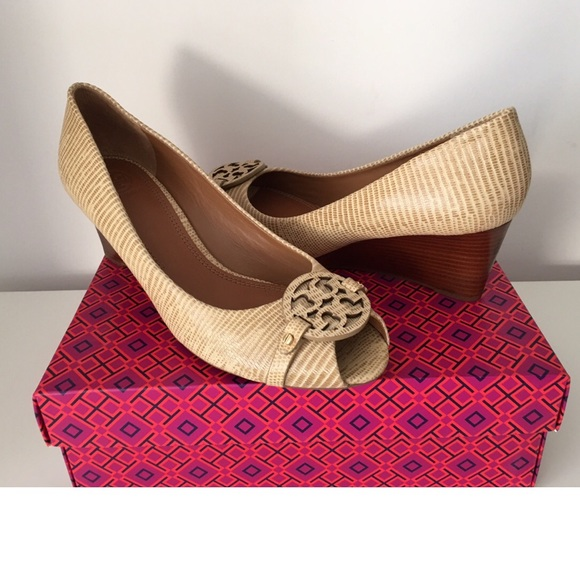 1fc765eba02 TORY BURCH MINI MILLER OPEN TOE WEDGE