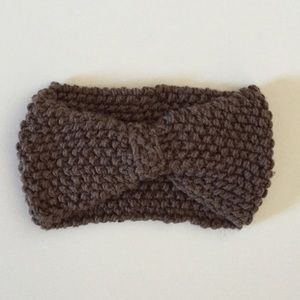 Accessories - Brown handmade headband