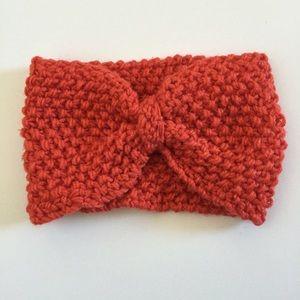 Accessories - Orange handmade headband