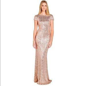 Dresses & Skirts - Sorella vita rose gold bridesmaid dress UNaltered