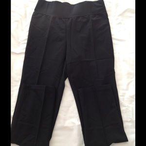 Oh! Mamma Pants - Oh! Mamma Black Maternity Pants New