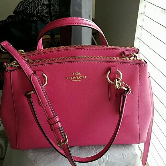 e146f804fbd Coach Handbags - Coach Mini Christie Carryall Satchel Bag W/Strap