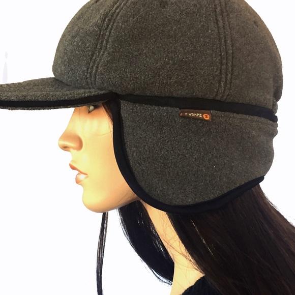 9d43b01e2b537 New BASS polar fleece cap trappers hat ear flaps