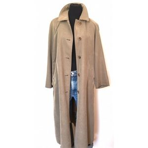 Vintage Taupe Women's Burberry Jacket