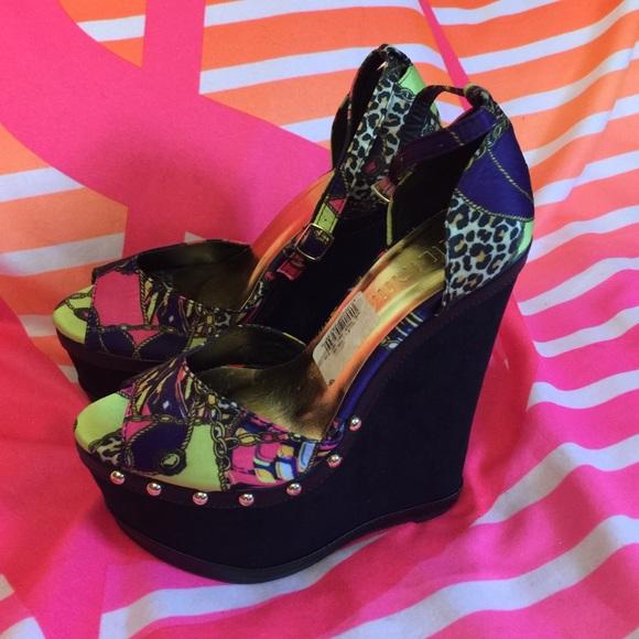 Shoes Nicki Minaj Wedges Nwt Poshmark