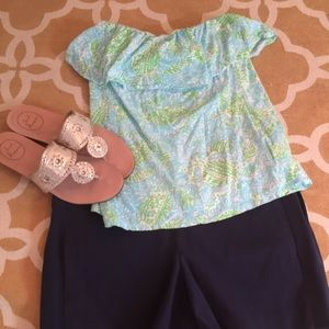 Size small Lilly Pulitzer Wiley tube top