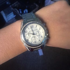 Michael Kors Accessories - Michael Kors stainless 39mm stainless steel watch