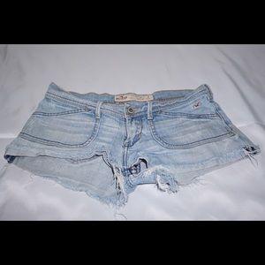 Pants - Hollister jean shorts
