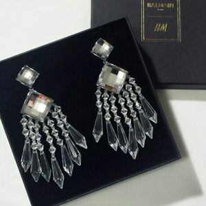 H & M x Balmain earrings