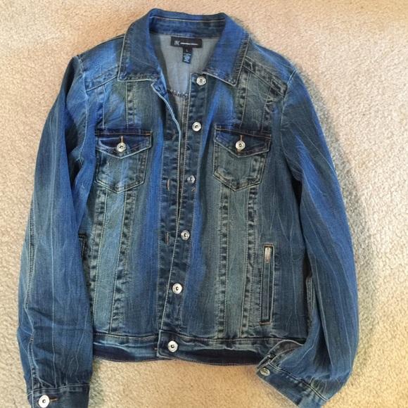 42% off INC International Concepts Jackets & Blazers - INC denim ...